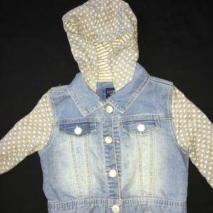 Girl OSHKOSH Jean Jacket Size 4t